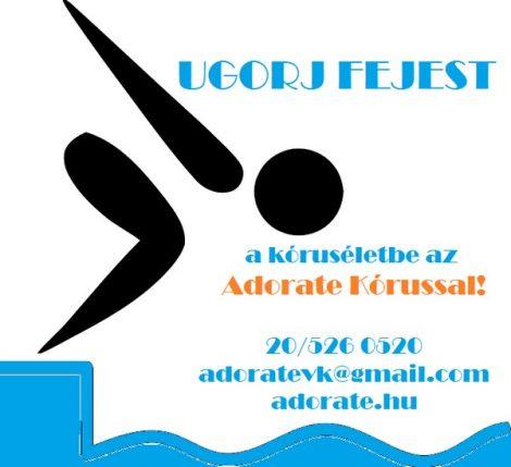 Az Adorate Kórushoz idén is lehet csatlakozni, próbáljátok ki velünk a kóruséneklést!